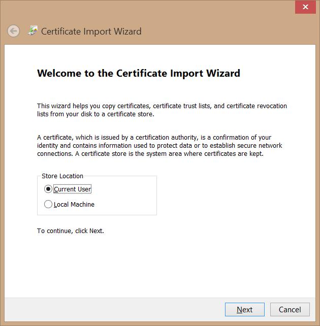 microsoft certificate store