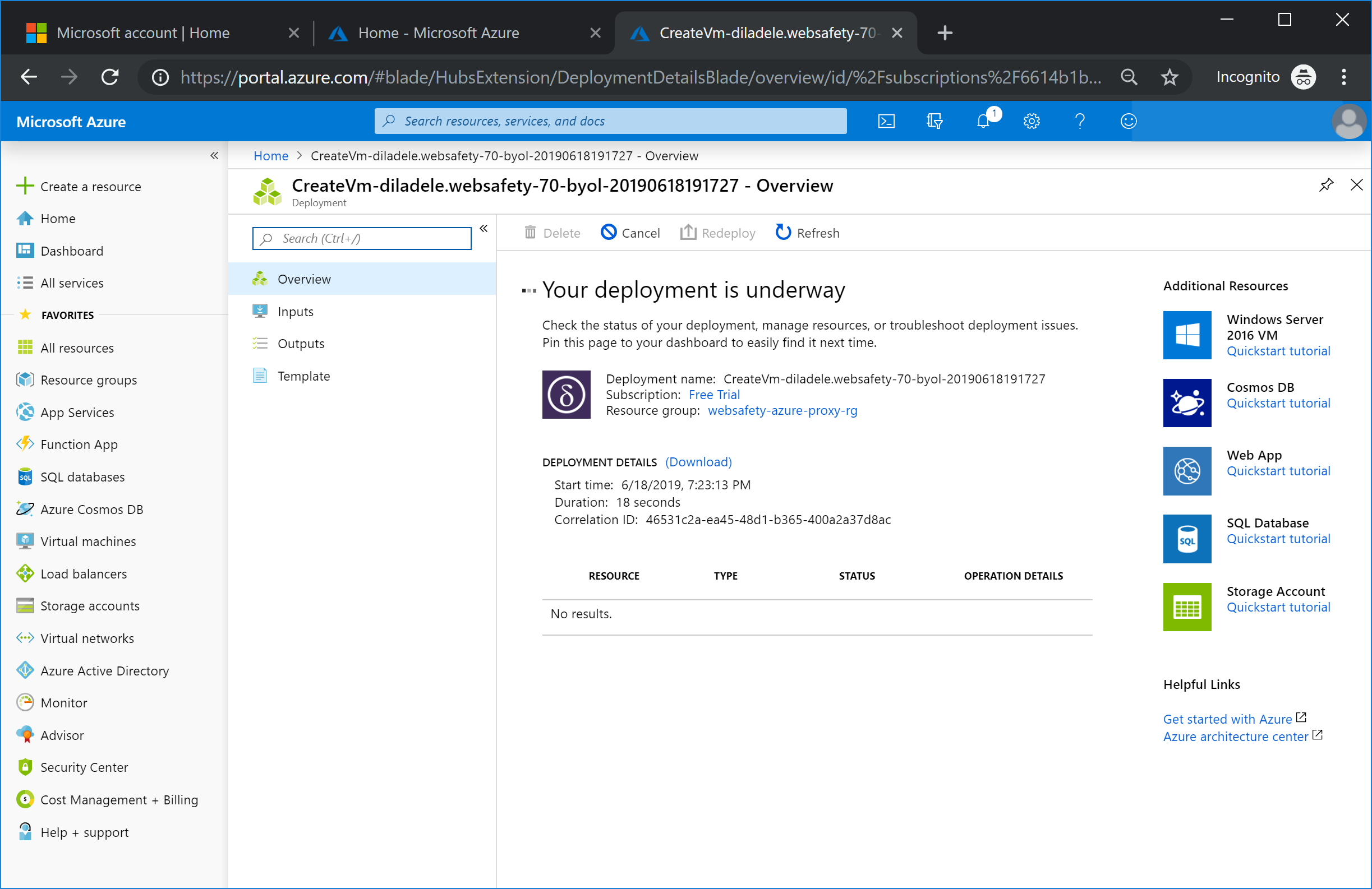 Deploy Web Safety and Squid Proxy in Azure — Web Filter for