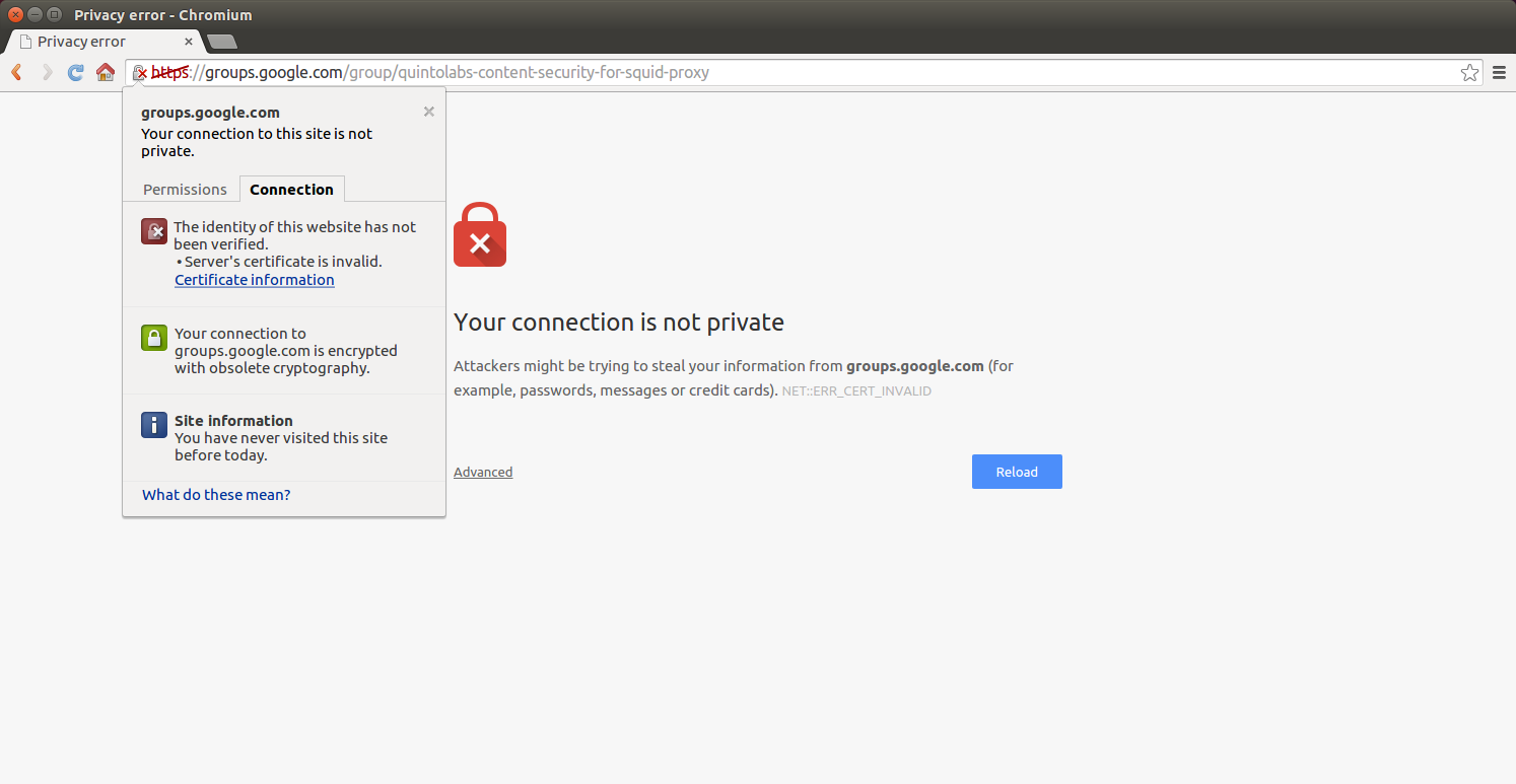 Google Chrome Error Your Connection Is Not Private Net Err Cert Invalid Web Filter For Your Network