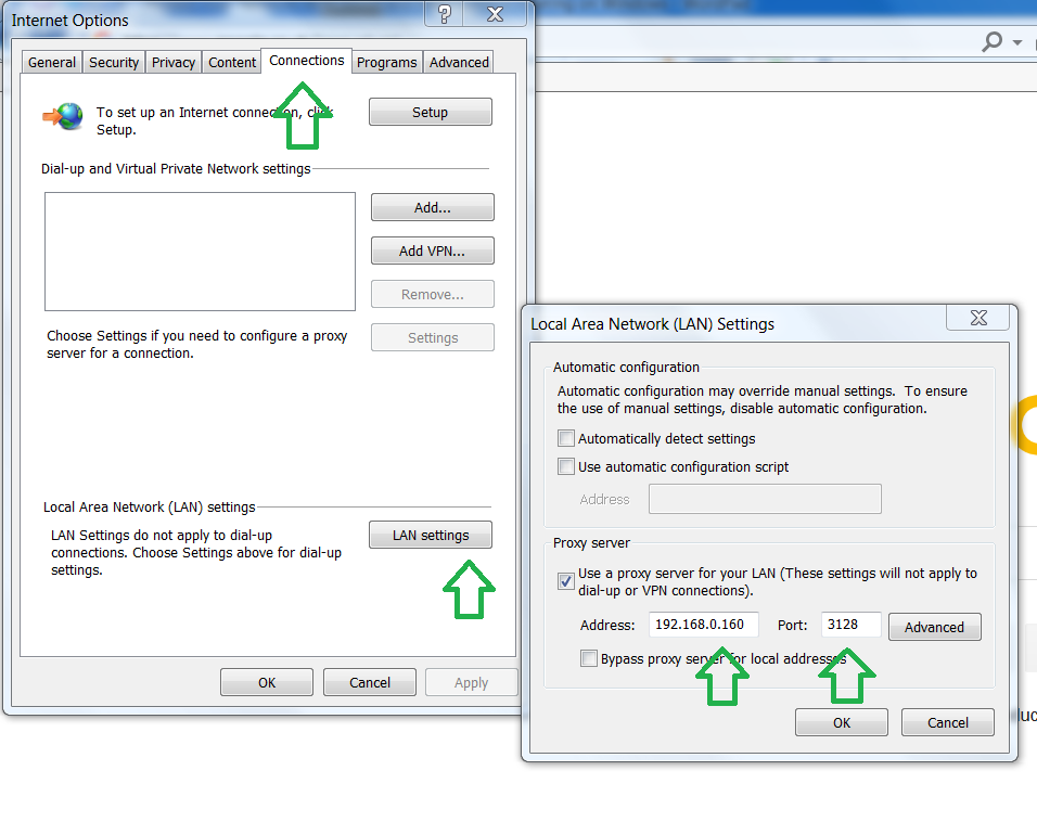 Web Filtering on Windows 7/8 with Squid and Docker — Web Filter for