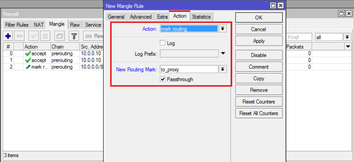 Mangle HTTP and HTTPS Traffic and Prepare for Re-Routing