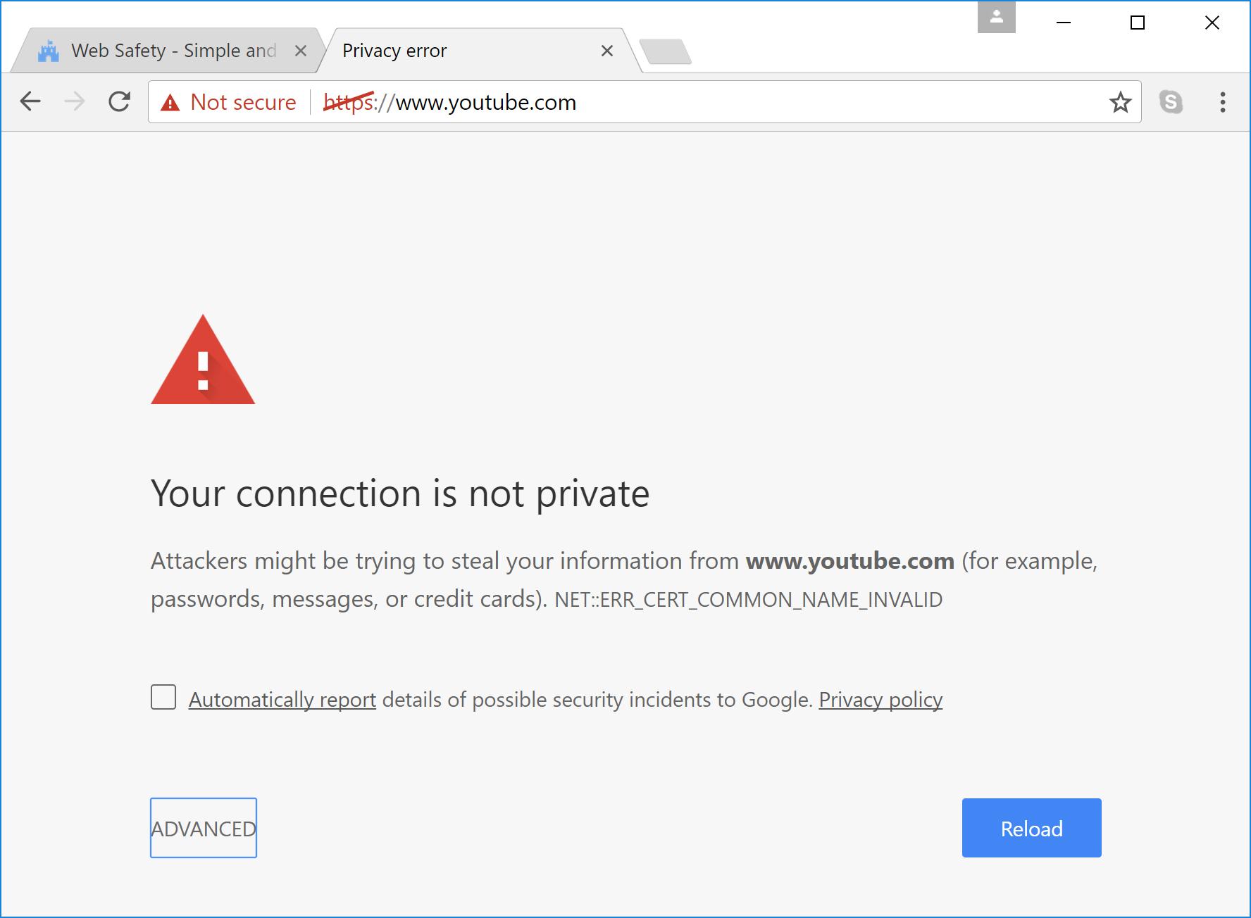 Web safety 51 incorrect order of ssl bump directives web imagesyoutubeblockedcninvalidg 1betcityfo Gallery